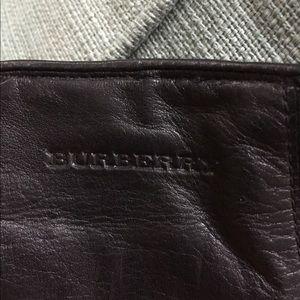 Burberry Overcoat /Gloves/ Scarf